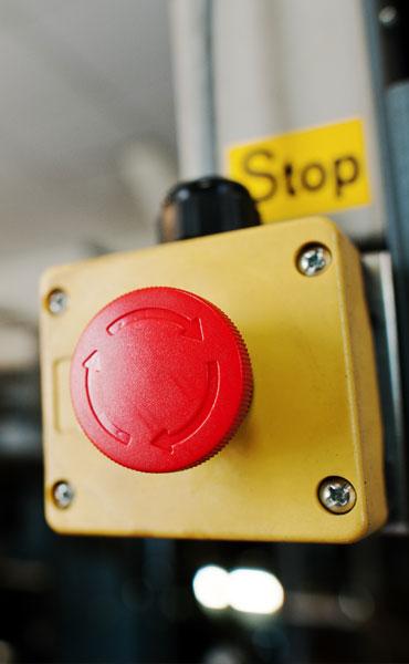 Un bouton panique
